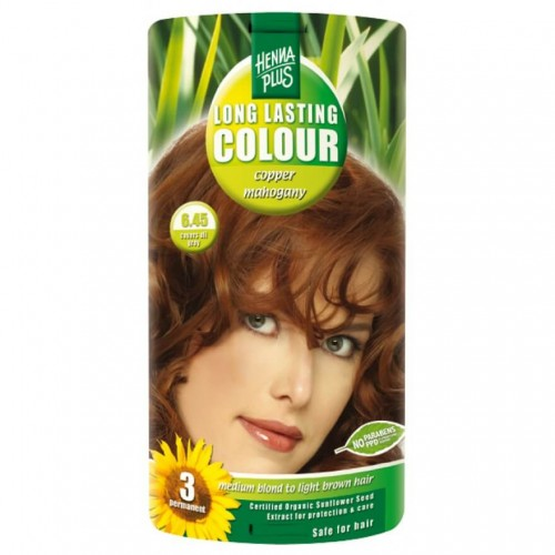 HENNA PLUS Long Last Colour 6.45 kupfer mahagoni
