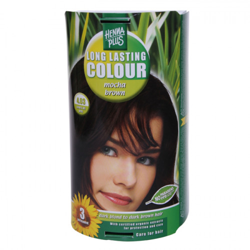 HENNA PLUS Long Last Colour 4.03 mokkabraun