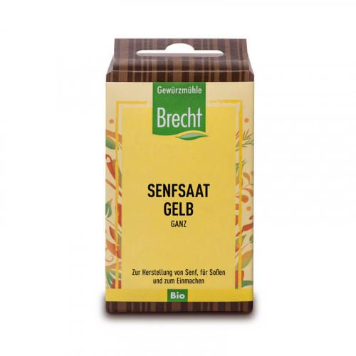 BRECHT Gelbe Senfsaat ganz Bio refill 60 g