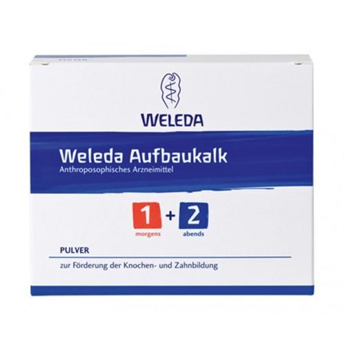 WELEDA Aufbaukalk 1+2 Plv 2 Ds 50 g