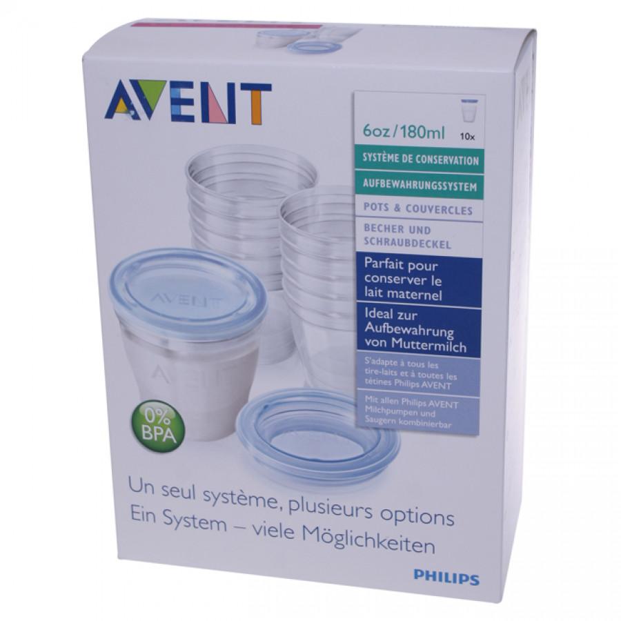 Hier sehen Sie den Artikel AVENT PHILIPS VIA Muttermilch Becher Set aus der Kategorie Schoppenflaschen und Zubehör. Dieser Artikel ist erhältlich bei apothekedrogerie.ch