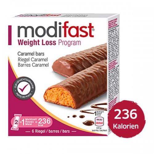 MODIFAST Programm Riegel Karamell 6 x 31 g