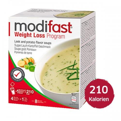 MODIFAST Programm Suppe Kartoffel Lauch 8 x 55 g