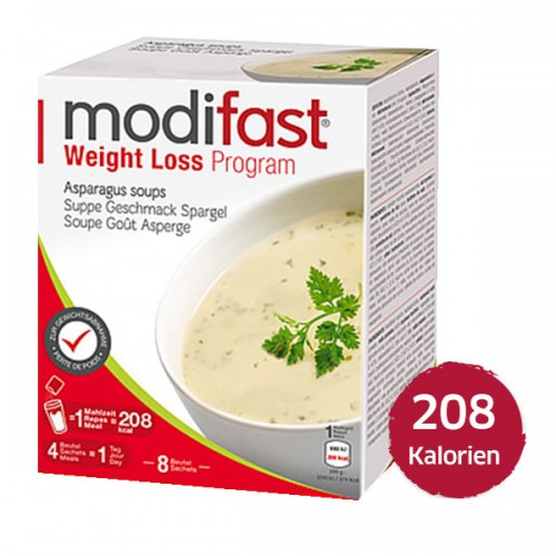 MODIFAST Programm Suppe Spargel 8 x 55 g