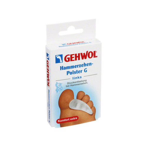 GEHWOL Hammerzehen-Polster G links
