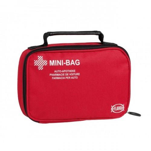 FLAWA Auto Apotheke Mini Bag rot