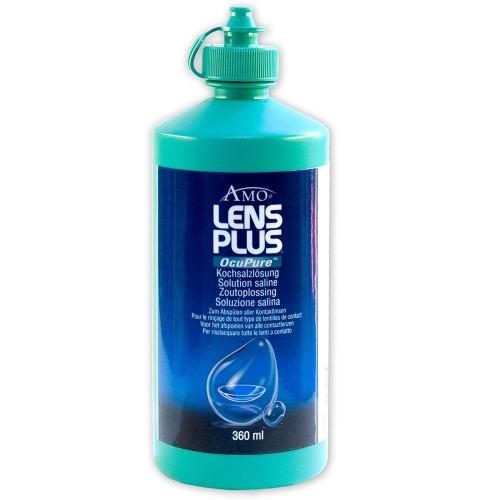 LENS PLUS Ocu Pure Kochsalzlösung 360 ml