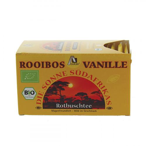 HERBORISTERIA Rooibos Tea Vanille Box 20 Btl