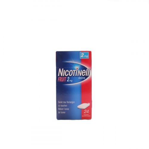NICOTINELL Gum 2 mg fruit 24 Stk