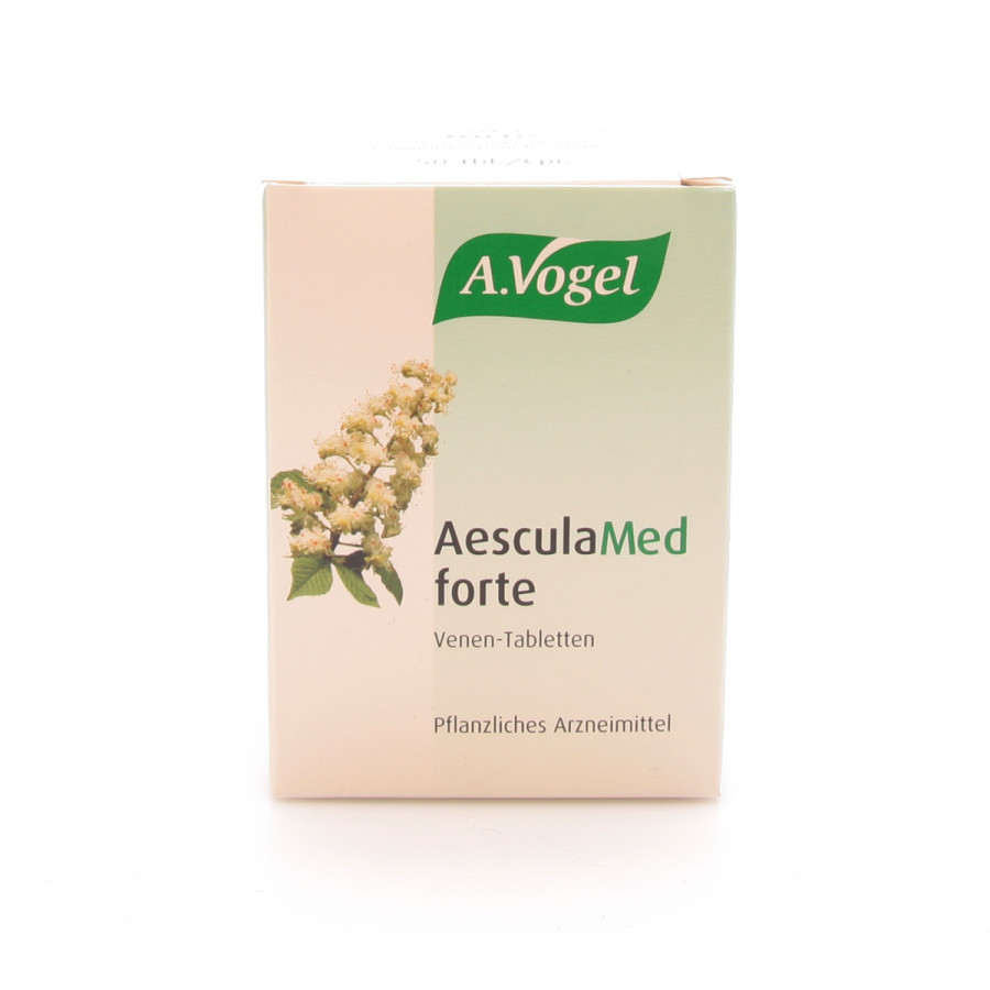 Hier sehen Sie den Artikel AESCULAMED forte Venentabl 50 Stk aus der Kategorie Medikamente der Liste D. Dieser Artikel ist erhältlich bei apothekedrogerie.ch