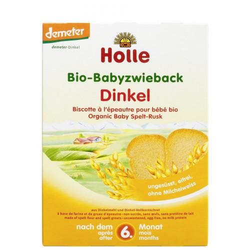 HOLLE Baby Zwieback Dinkel Bio 200 g
