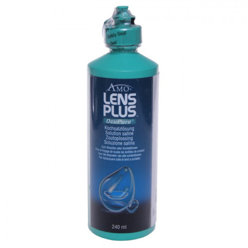 LENS PLUS Ocu Pure Kochsalzlösung Fl 240 ml
