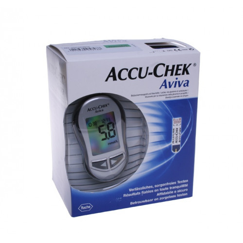 ACCU-CHEK AVIVA Set mmol/L incl. 1 x 10 Tests