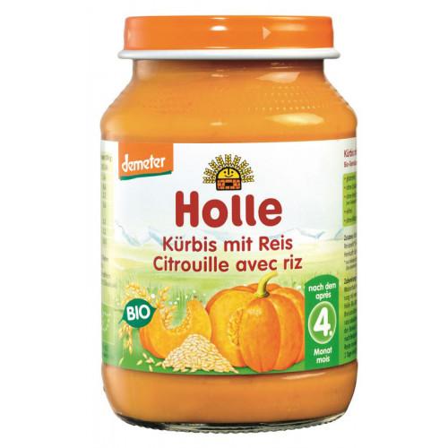 HOLLE Kürbis mit Reis Bio 190 g