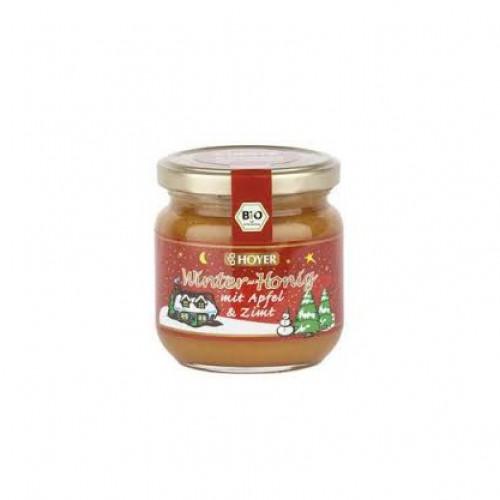 HOYER Winter Honig Apfel & Zimt Bio Glas 250 g