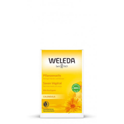 WELEDA BABY Calendula Pflanzenseife 100 g