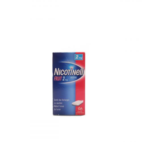 NICOTINELL Gum 2 mg fruit 96 Stk