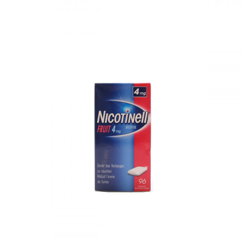 NICOTINELL Gum 4 mg fruit 96 Stk