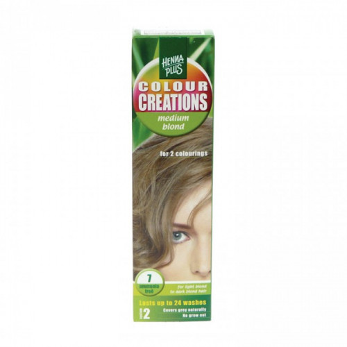 HENNA COLOUR Creations Medium blond 7 60 ml