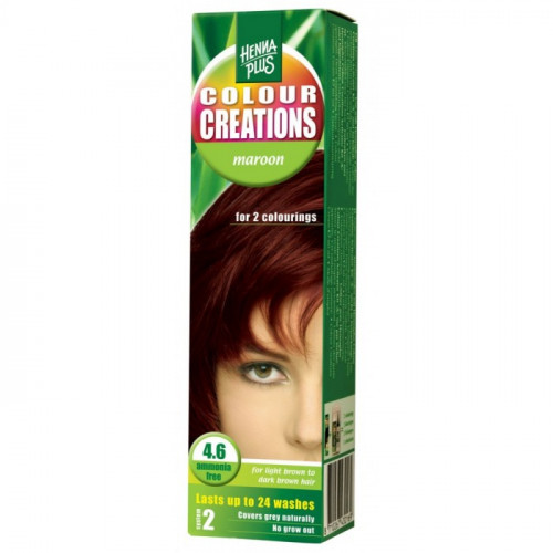 HENNA COLOUR Creations Maroon 4.6 60 ml