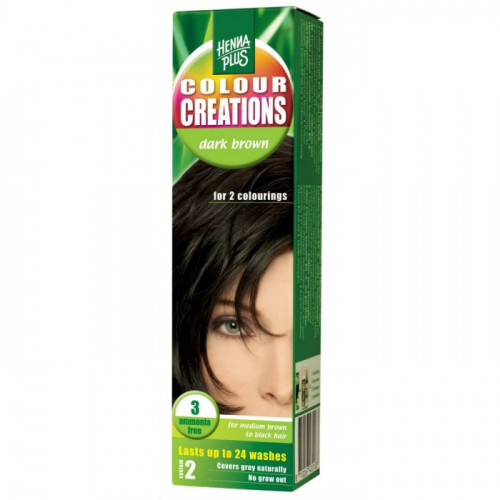 HENNA COLOUR Creations Dark brown 3 60 ml
