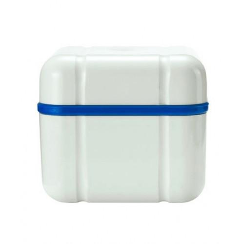 CURAPROX BDC 110 Prothesen Reinigungsbehälter blau