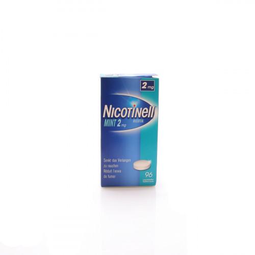 NICOTINELL Lutschtabl 2 mg mint 96 Stk