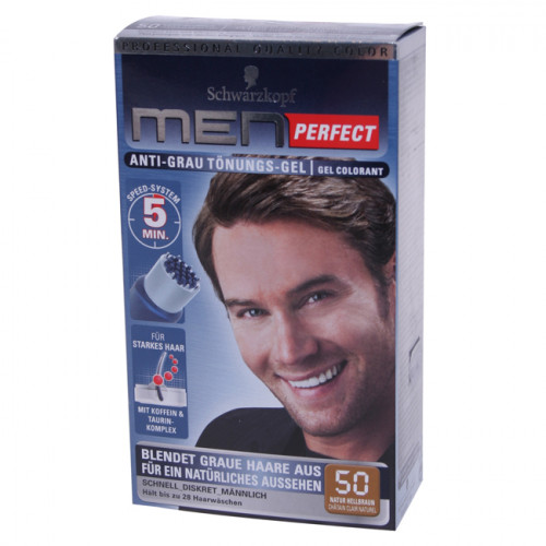 MEN PERFECT Tönung 50 Natur Hellbraun