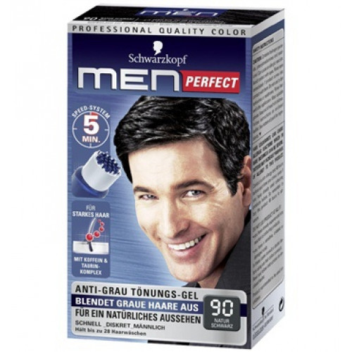 MEN PERFECT Tönung 90 Natur Schwarz
