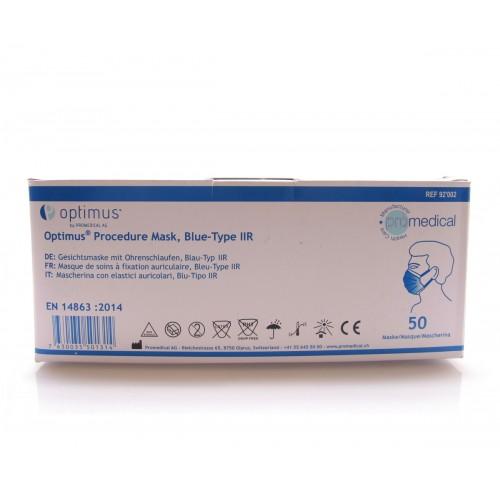 PROMEDICAL Hygienemaske Typ IIR blau 50 Stk