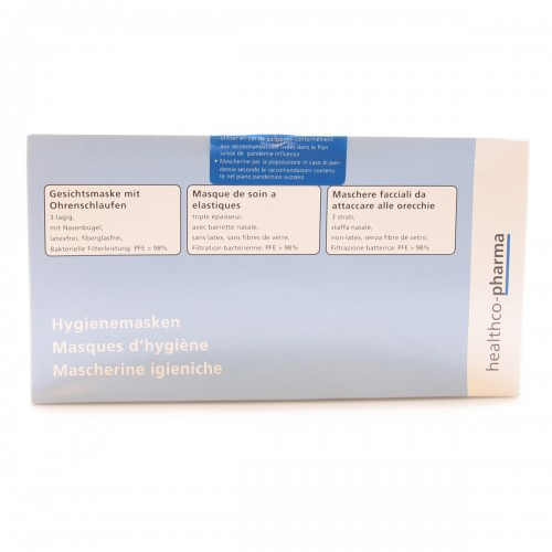 HEALTHCO-PHARMA Hygienemasken Pand Typ IIR 50 Stk