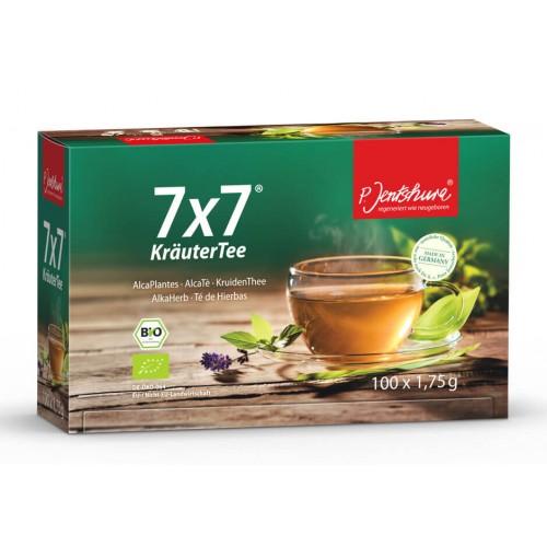 JENTSCHURA 7x7 Kräuter Tee Btl 100 Stk