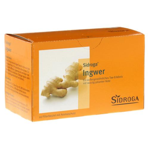 SIDROGA Ingwer 20 Btl 0.75 g
