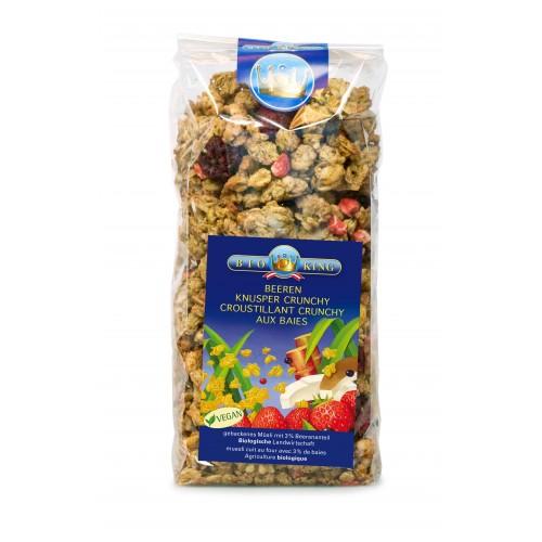 BIOKING Beeren Knusper Crunchy Müesli 375 g