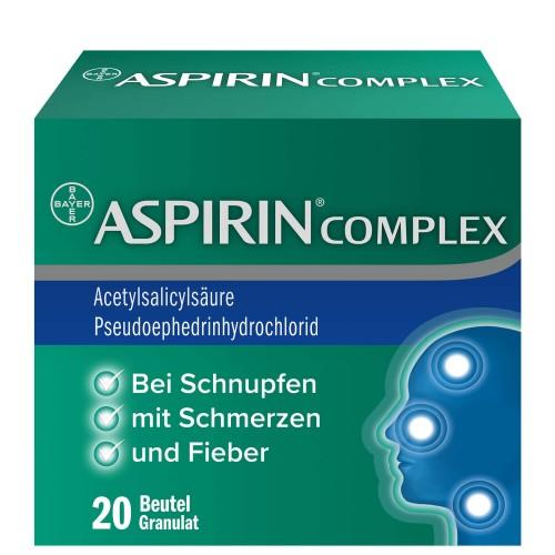 ASPIRIN Complex Gran Btl 20 Stk