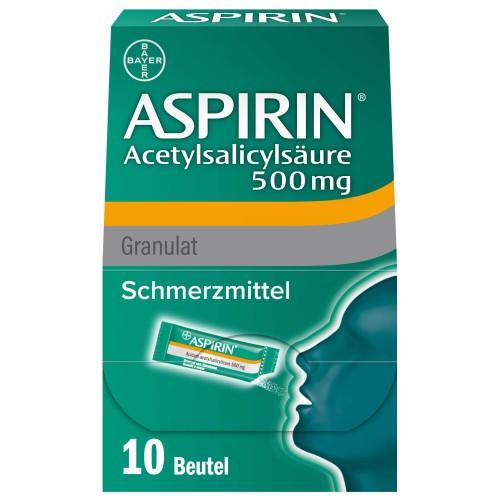 ASPIRIN Gran 500 mg Btl 10 Stk