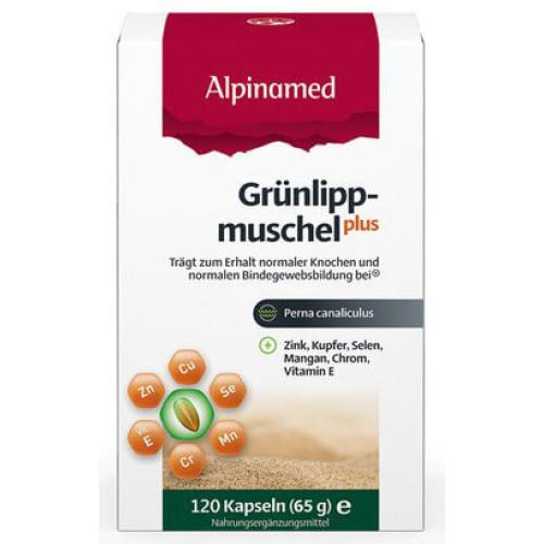 ALPINAMED Grünlippmuschel Plus Kaps 120 Stk