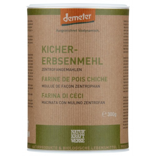 NATURKRAFTWERKE Kichererbsenmehl Demeter 300 g