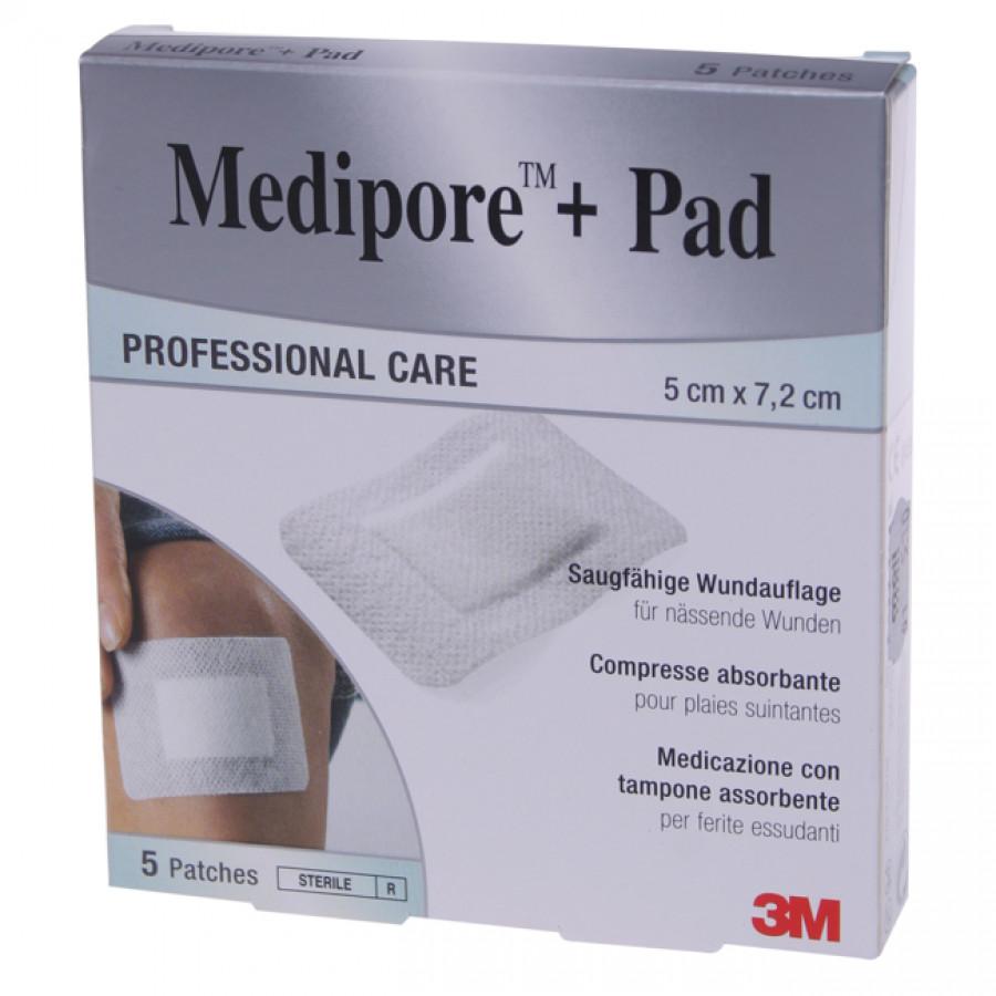 Hier sehen Sie den Artikel 3M MEDIPORE+PAD 5x7.2cm Wundkisse 2.8x3.8cm 5 Stk aus der Kategorie Schnellverbände Vlies. Dieser Artikel ist erhältlich bei apothekedrogerie.ch