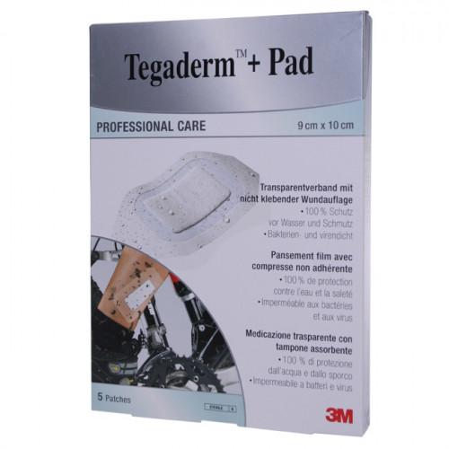 3M TEGADERM+PAD 9x15cm Wundkissen 4.5x10cm 5 Stk