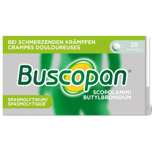BUSCOPAN Drag 10 mg 20 Stk