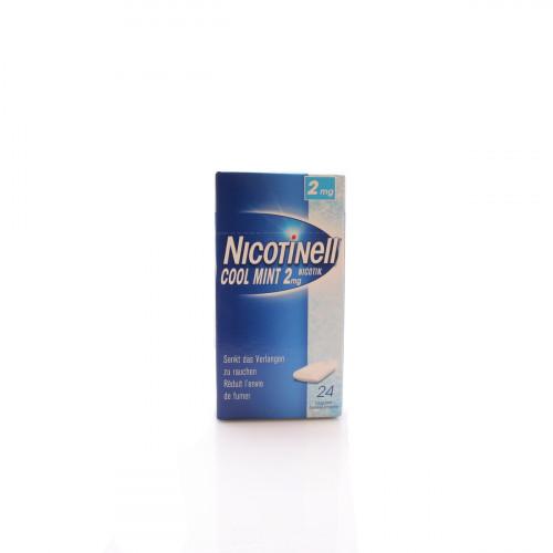 NICOTINELL Gum 2 mg cool mint 24 Stk