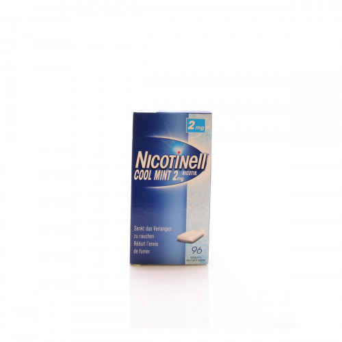 NICOTINELL Gum 2 mg cool mint 96 Stk