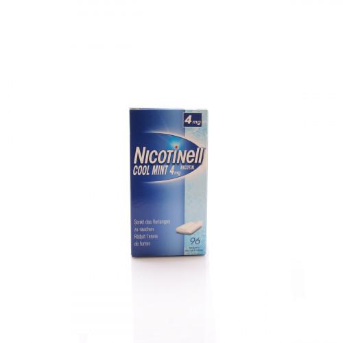 NICOTINELL Gum 4 mg cool mint 96 Stk