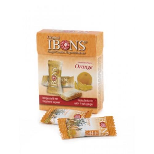IBONS Ingwer Bonbon Orange Box 60 g