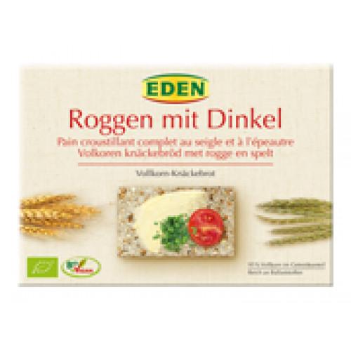 EDEN Knäckebrot Roggen Dinkel Bio 250 g