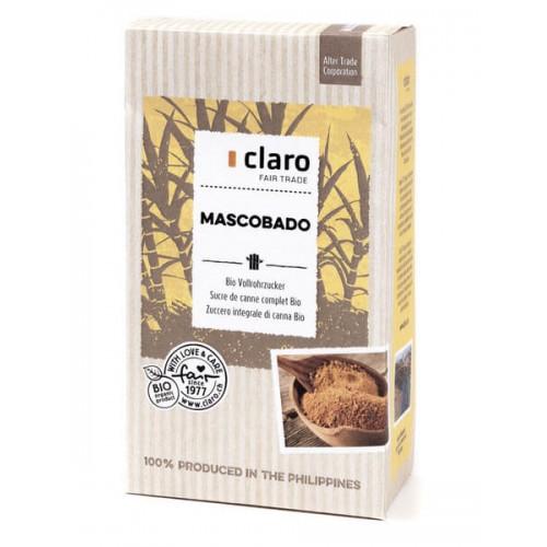 CLARO Mascobado Vollrohrzucker Bio 1 kg