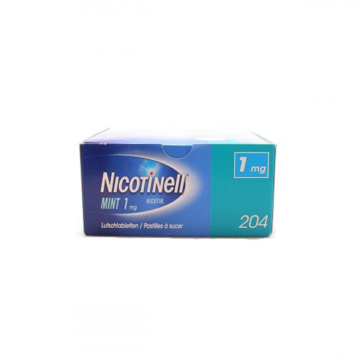 NICOTINELL Lutschtabl 1 mg mint 204 Stk