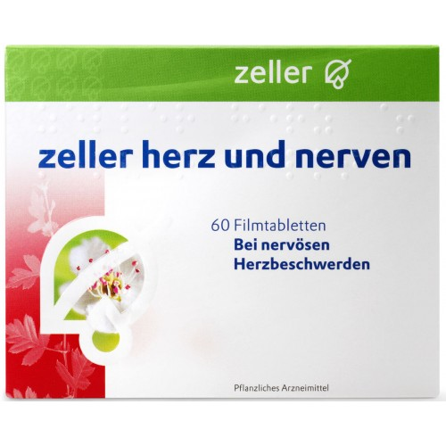 ZELLER Herz und Nerven Filmtabl 60 Stk