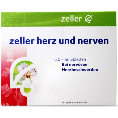 ZELLER Herz und Nerven Filmtabl 120 Stk